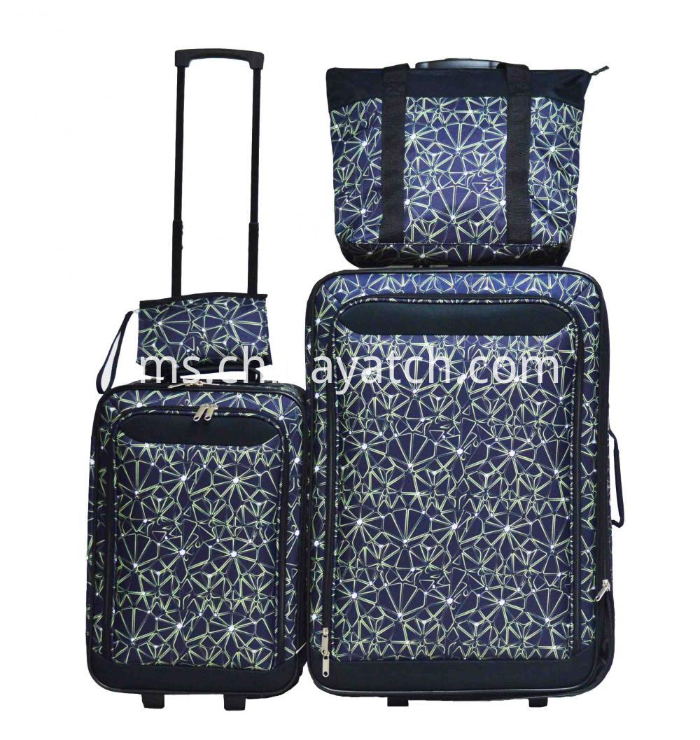 Upright Trolley Case Set