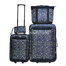 5 PCS Upright Suitcase Expandable Trolley bag