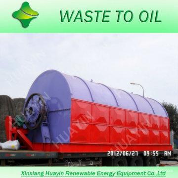 Déchets de pneus au fournisseur d'huile avec 20 ans d'expérience