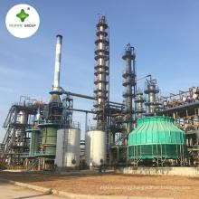 Continous 20000 ton/year Crude Oil Distillation Column Tower Plant