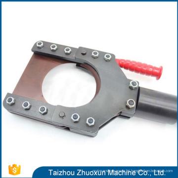 Fio hidráulico elétrico separável do cabo da engrenagem perfeita cortador de cabo hidráulico usado de alta qualidade