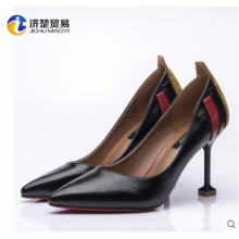 With the glass ladies heel shoes women's shoe pumps