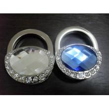 Forme la promoción Señora Regalo Bolso plegable del bolso con el diamante (F2016)