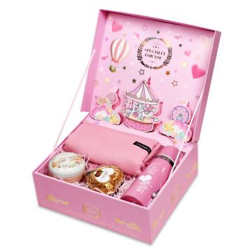 Caixa de embalagem de papel de Natal de luxo Caixas de presente personalizadas