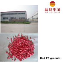 Recycled Red PP Plastic Granule