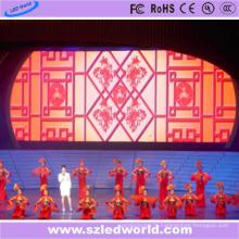 Panneau de panneau d'écran de visualisation de la publicité LED P6 d'intérieur polychrome