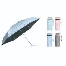 New Fashion Lady Folding Manual Mini Umbrella with UV Protection/Compact Gift Umbrella with Black Coating