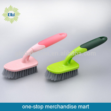 Colorful Plastic Handle Floor Brush Bathroom Floor Brush