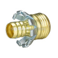 "1/2"" Brass male coupler"
