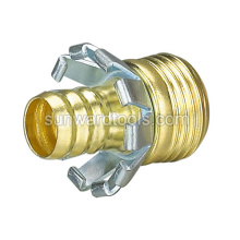 "5/8"" Brass male coupler"