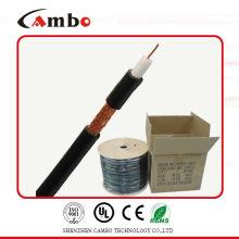 CCTV cable de sistema de seguridad mini rg59 CU sólido / CCA / CCS