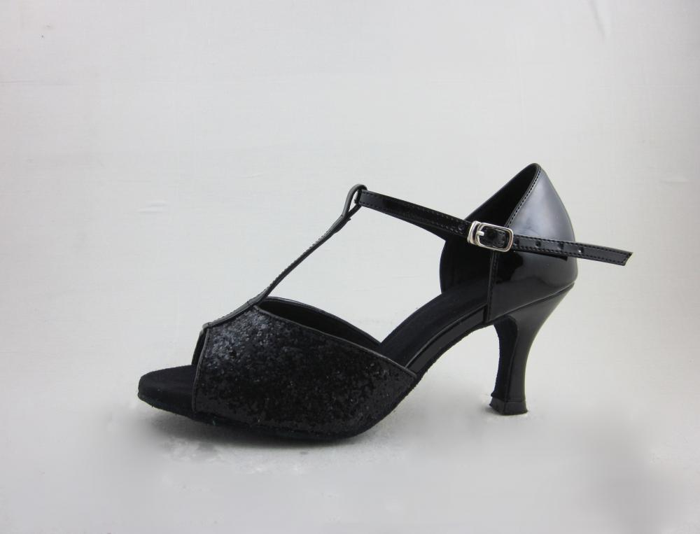 Girls Black Latin Shoes