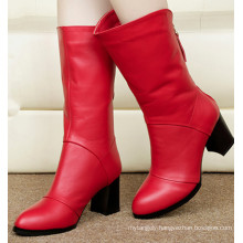 Short Heel Think Heel Women Boots