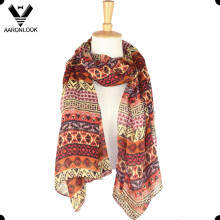 Fashion Cheap Geometry Printed Oblong Scarf