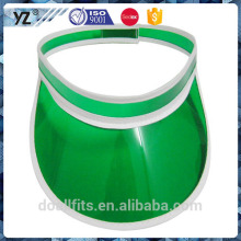 plastic and customzied visor sun cap good quality made in china