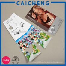 Hochwertiger kundenspezifischer Druckaufkleber-Markenaufkleber der hohen Qualität