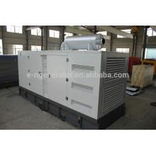 Generador diesel de 300 kva con toldo silencioso de nuevo diseño
