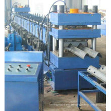 Expressway crash barrier 2-wave guardrail roll forming machine