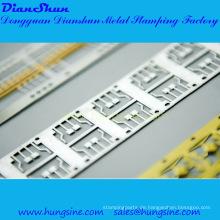 Lead Frame Stamping mit selektiver Beschichtung
