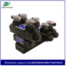 hydraulic solenoid valve station for hydraulic cylinder for pipe rolling machine hydraulic station