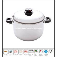 Big Deep Soup Stock Pot Stainless Steel Pot
