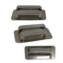 Metal Silver Bag Ribbon Buckle