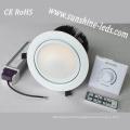 Dimmable 3W/6W/15W/27W RGBW LED Downlighting