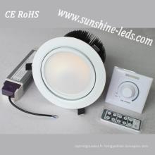 Dimmable 3W / 6W / 15W / 27W RGBW LED Downlighting