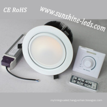 Dimmable 3W/6W/15W/27W RGBW LED Downlighting