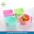 Personalized Plastic Fruit Bowl with Handle