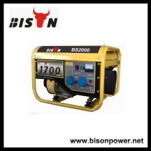 BISON (Китай) Воздушное охлаждение 1.5kw BS2000 110 Вольт Портативный генератор