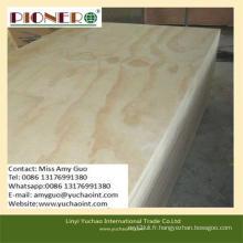 Contreplaqué de pin de haute qualité / contreplaqué marin pour meubles et décoration