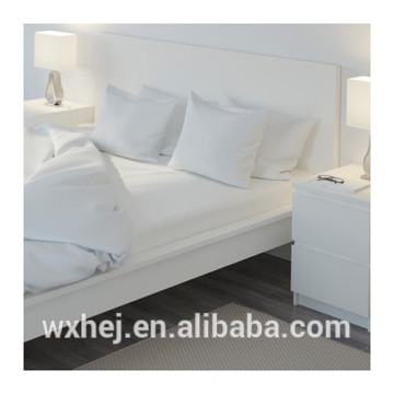 180TC polyester/ cotton high quality super king fitted sheets