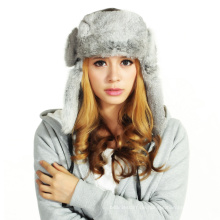 (LKN15028) Plüsch Winter Fleece Earflaps Hut