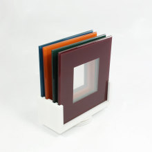 Färgade akryl Multi Picture Frame Sets