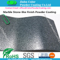 Marble Stone-like Finish Powder Coating for Exterior