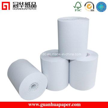 SGS 80 mm y 57 mm de ancho de caja de registro POS rollo de papel térmico