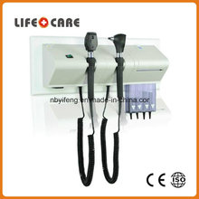 Yf1000 Diagnostic Wall Unit Medical Diagnostic Equipment Ophthalmoscope and Otoscope
