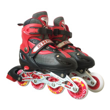 Inline Skate Kid Red Roller Skate