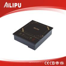 Display LED e Fogão de Indução de Toque Suave