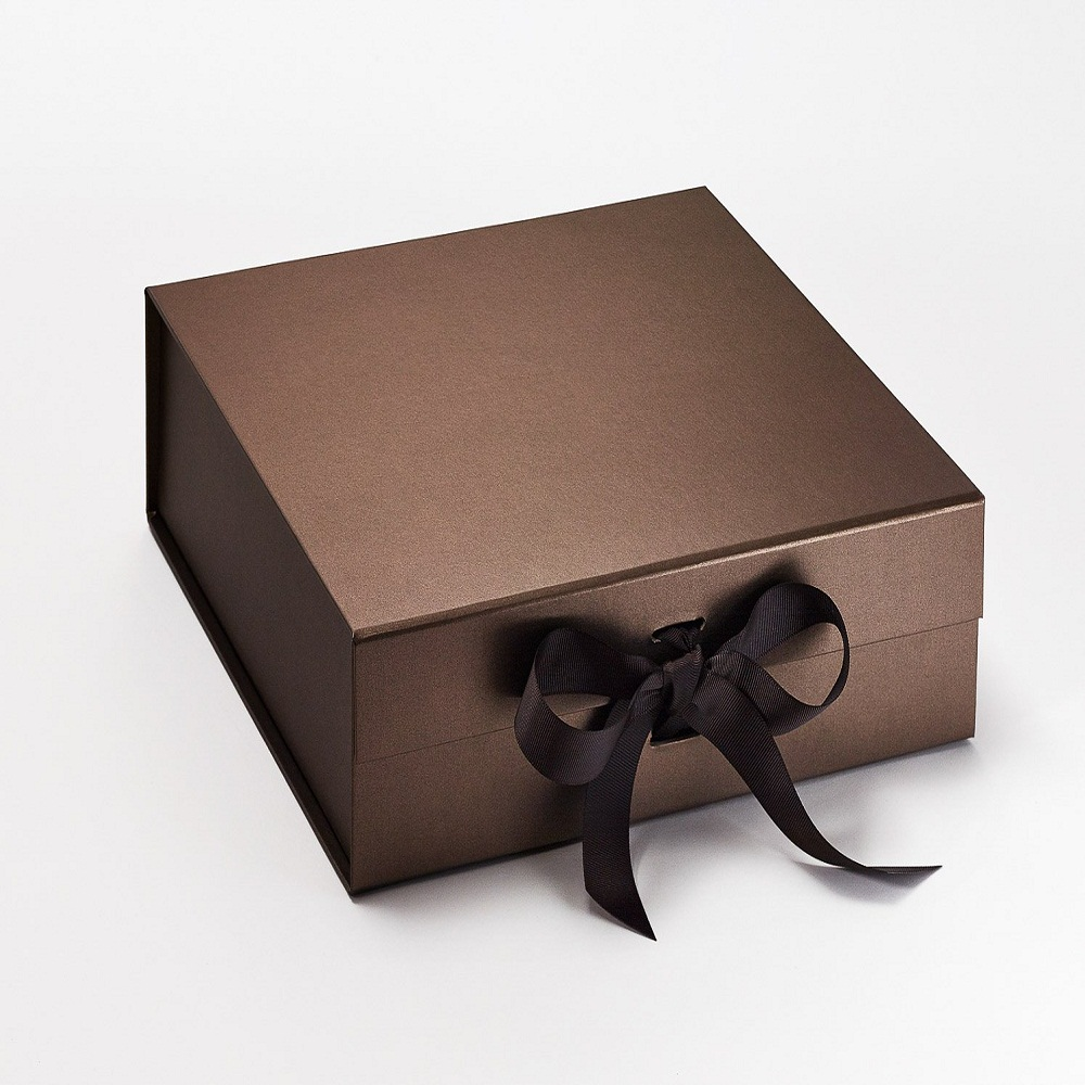 Bronze Large Folding Magnetic Gift Boxes