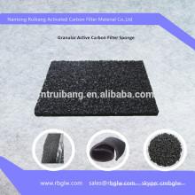 pintura sala filtro granular carbón activo