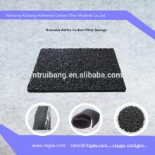 salle de peinture filtre granulaire charbon actif