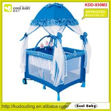 ASTM F406-12A Approved Hersteller Baby Laufstall mit Moskitonetz