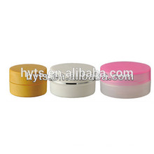 recycelte kosmetische Plastikgläser