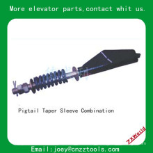 Elevador pigtail taper manga combinação / elevador parte pigtail taper manga combinação
