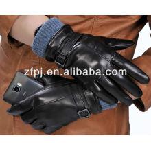 2014 Leather Iphone Gloves pour écran tactile