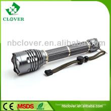 Langstrecken-Aluminium-LED-Notfall-Taschenlampe