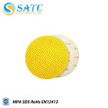 225mm yellow wall dry sanding disc in china with high efficiency