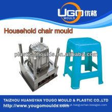 Molde de injeção de plástico, moldura de cadeira interna em Huangyan, China